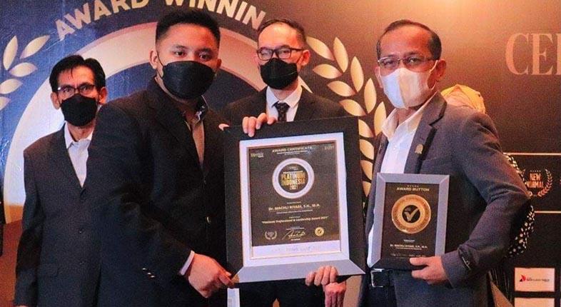SABET PENGHARGAAN Platinum Indonesia 2021, Machli : Saya Pun Kaget