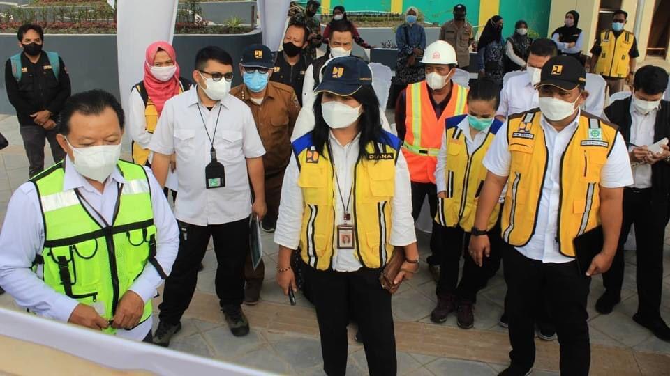 PROGRAM KOTA Tanpa Kumuh di Banjarmasin Ditinjau Dirjen Cipta Karya Kementerian PUPR