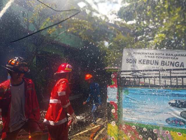 JIWA SOSIAL Tinggi, Alasan Terobos Pembagian Zonasi Penanganan Kebakaran di Banjarmasin (2)