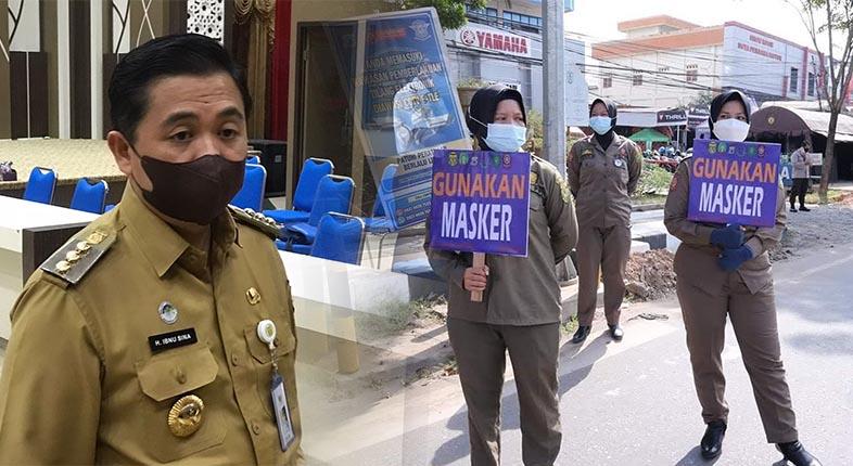 PASRAH Sandang Level 4, Walikota Banjarmasin: Tak Ada Ruang untuk Protes