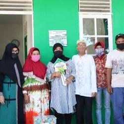 UPZ BANK KALSEL Bantu Bedah Rumah Dhuafa Bersama Baznas Banjarmasin