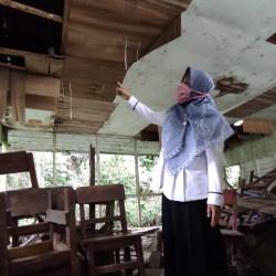 SATU SD Inklusi di Banjarmasin Rusak Berat, Membuat Ruang Guru Berpindah ke Mushala