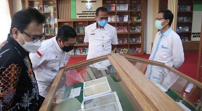 SILATURRAHIM ke UIN Antasari, Walikota Ajak Sinergi Bangun Banjarmasin