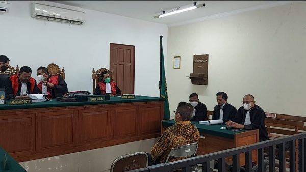 MINTA VONIS Bebas, Ini Predoi Penasihat Hukum H Ansharuddin