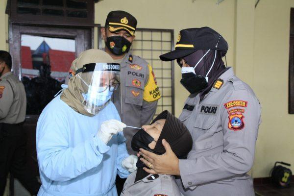 40 PERSONEL Polresta Banjarmasin di Swab Antigen