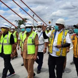DISEBUT Paman Birin Jembatan Alalak Bakal Diresmikan Presiden Jokowi