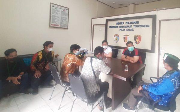 OKNUM POLISI Salah Tangkap Dilaporkan HMI Kalsel ke Propam Polda