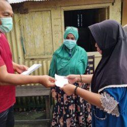 """ANGGOTA """"MACAN"""" KALSEL Sambangi Para Korban Kebakaran di Gang Proklamasi"""