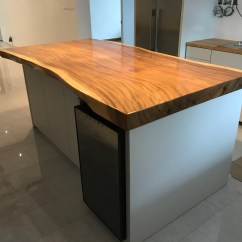Kitchen Tops Wood Pegasus Faucets Suar Bar Counter Singapore Solid Countertops In Island Top
