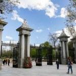 Parque de El Retiro em Madri Espanha