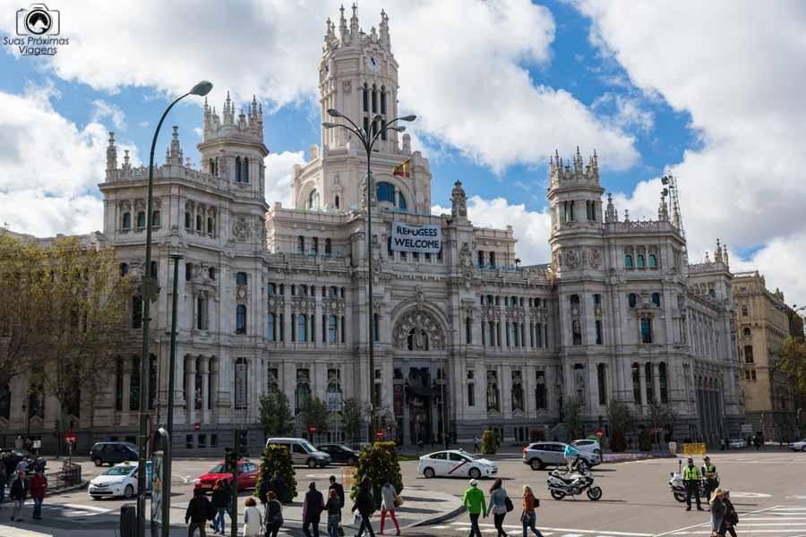 Palácio Cibeles em o que fazer em Madrid