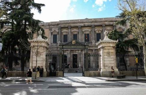 Biblioteca de Madri