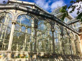 Palácio de Cristal no Parque de El Retiro em O que fazer em Madri