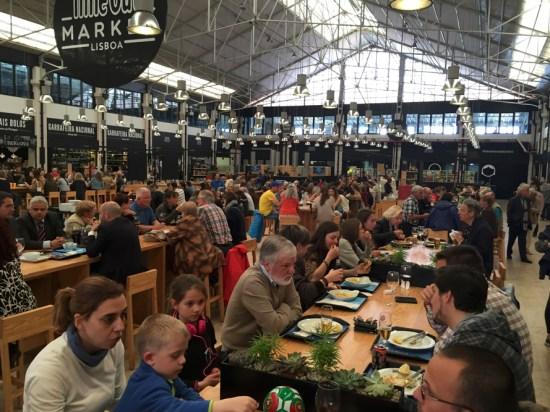 Mercado da Ribeira - Onde Comer em Portugal