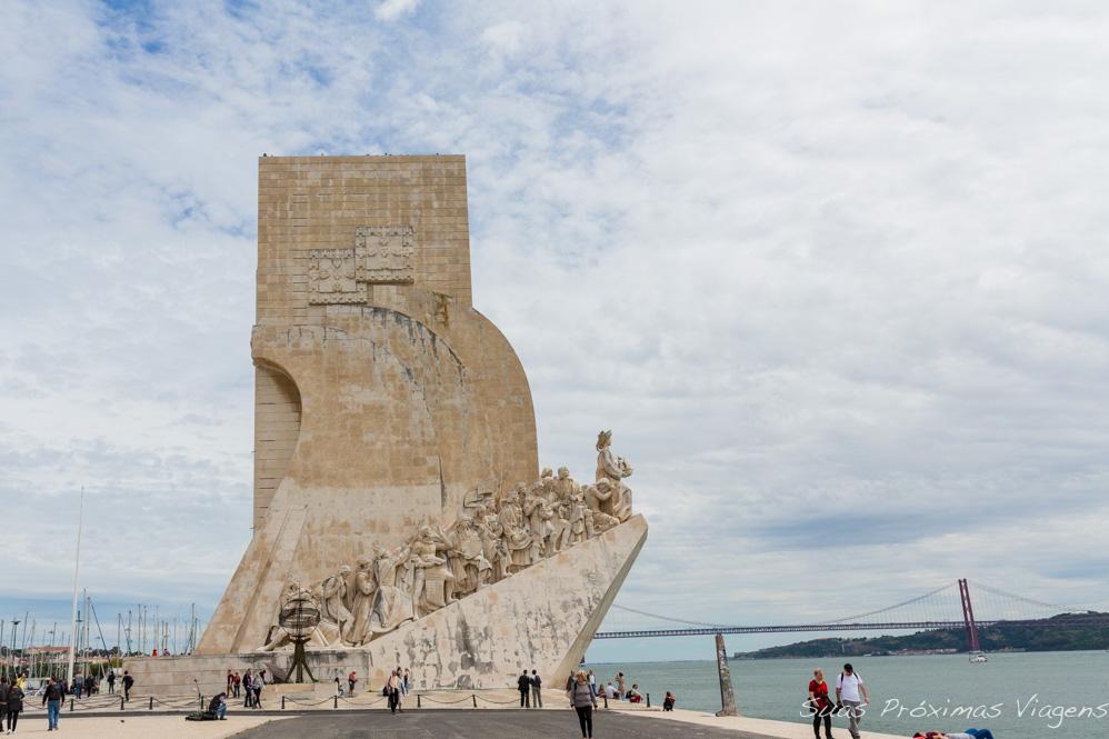 Padrão dos Descobrimentos em Lisboa - Portugal