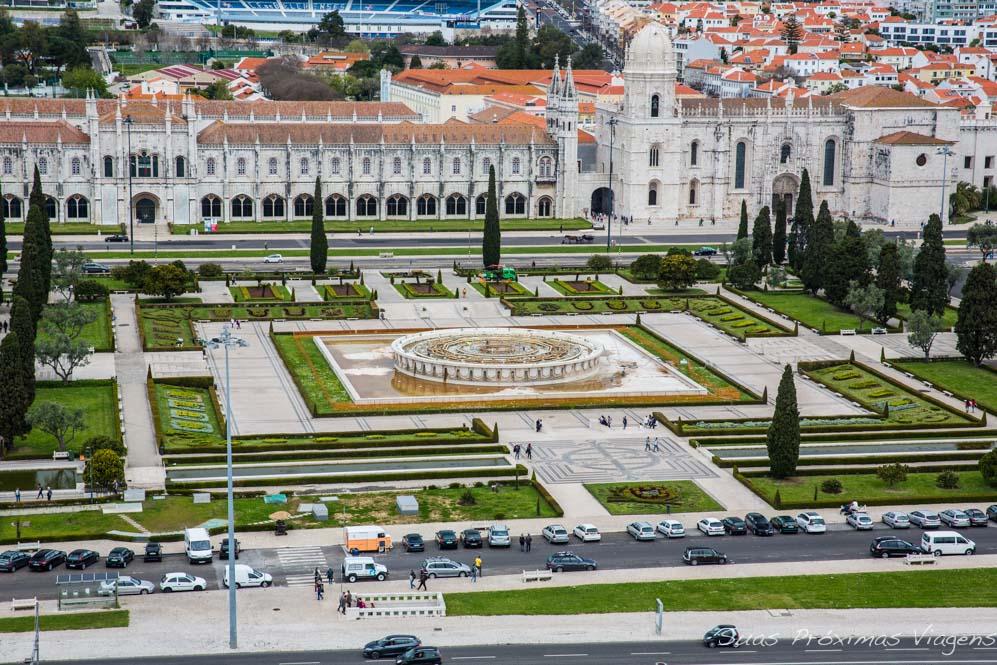 Mosteiro do Jerônimos em Lisboa - Portugal