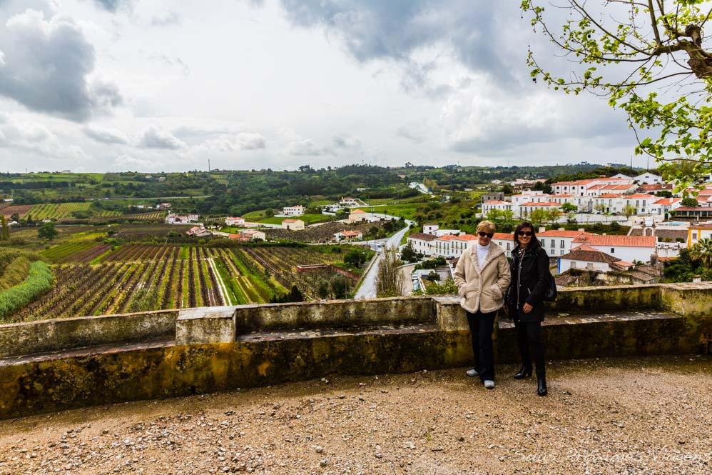 Região de Óbidos em Portugal