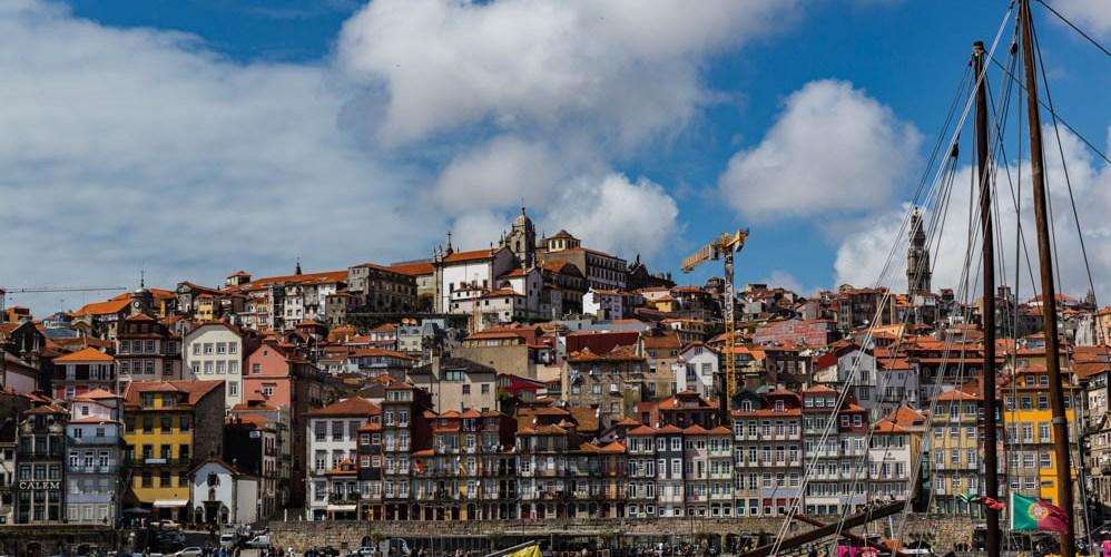 Vista da Cidade do Porto desde Gaia