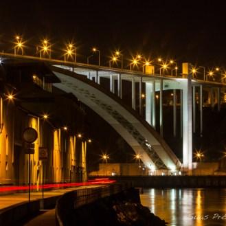 Ponte sobre o Douro em Porto