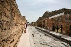 Imagem da Rua Principal das Ruínas de Pompéia