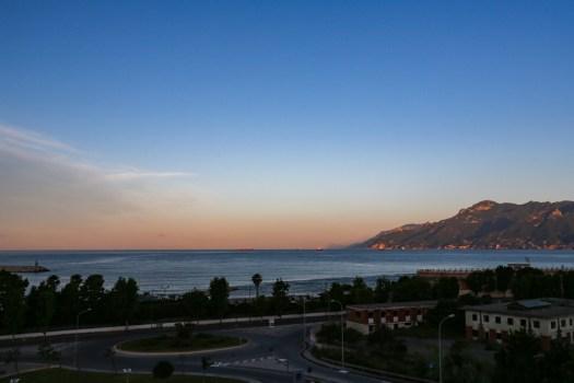 Salerno - Vista do Hotel