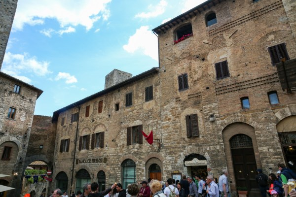 Gelateria Dondoli em San Gimignano na Toscana