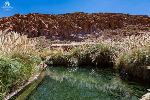 Termas de Puritama no Deserto do Atacama