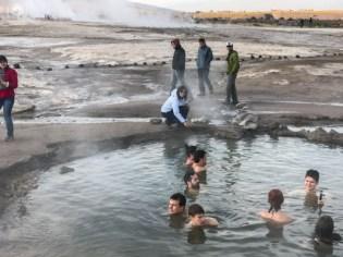 Termas dos Geysers del Tatio no Atacama
