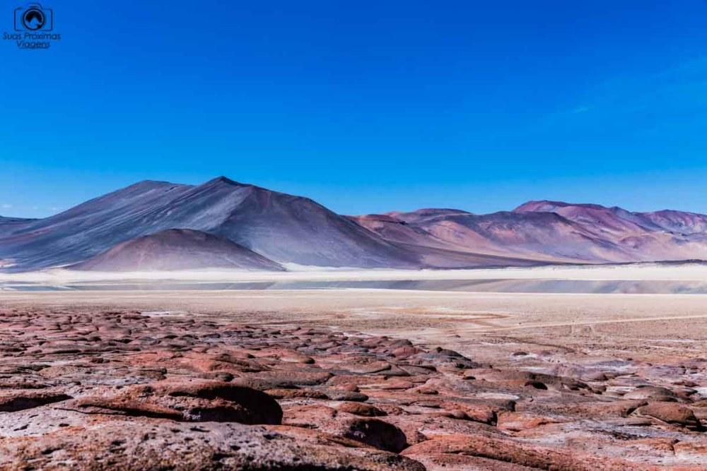 Piedras Rojas como parte do roteiro no deserto do atacama