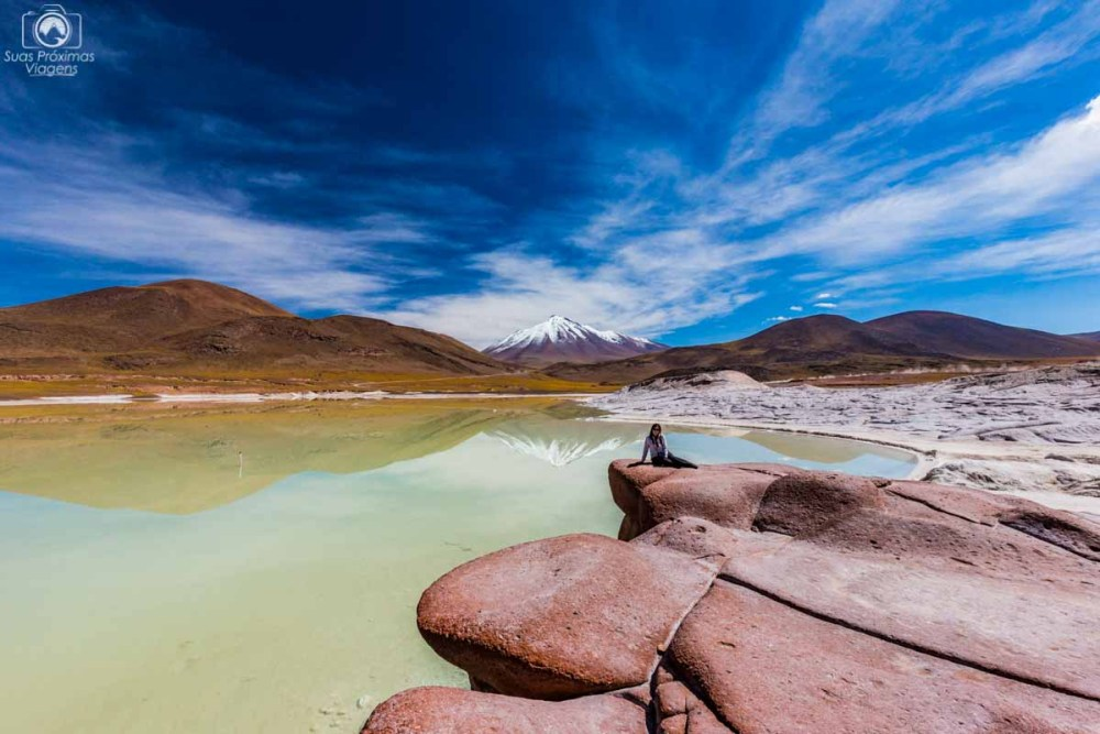 Piedras Rojas no Deserto do Atacama