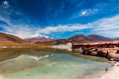 Piedras Rojas no Roteiro do Atacama de 5 dias