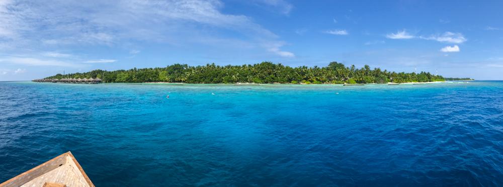 Uma opção de onde ficar em Maldivas
