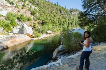 Outro Ponto do Merced River no Parque Nacional Yosemite