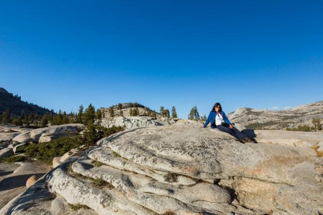 Vista do Sentinel Dome no Parque Nacional Yosemite
