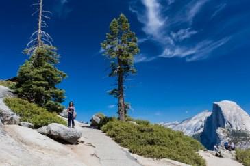 Mirante do Glacier Point no Parque Nacional Yosemite