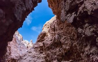 Vista da Caverna no Valle de La Luna