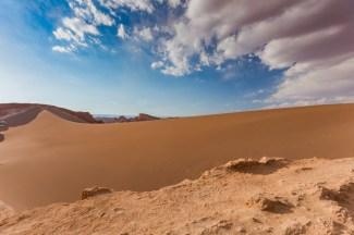 Valle de la Luna no Atacama