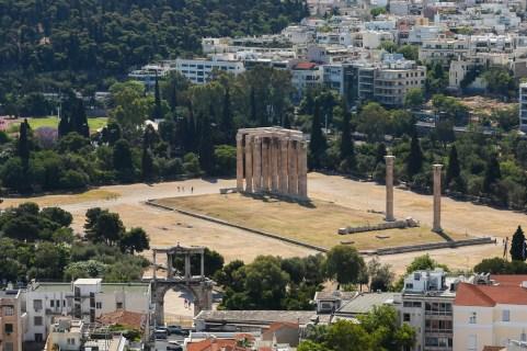 Colunas de Adriano em Atenas
