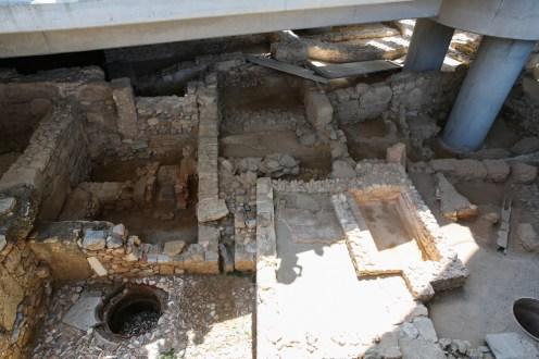 Ruínas no Museu de Acrópole