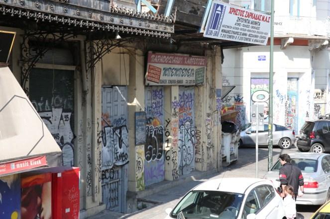 Pichação em Atenas