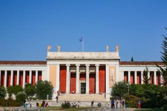 Museu de Arqueologia em Atenas / Grécia