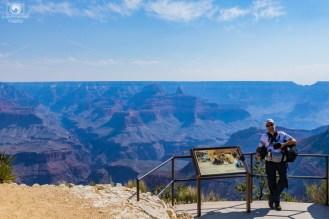 Painéis Informativos no Grand Canyon