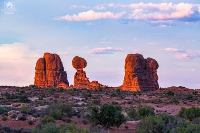Balanced Rock nos Arches