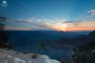 Amanhecer no Parque Grand Canyon