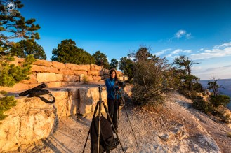 Fotografando na Golden Hour no Parque Grand Canyon
