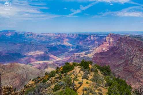 Rio Colorado no Parque Grand Canyon