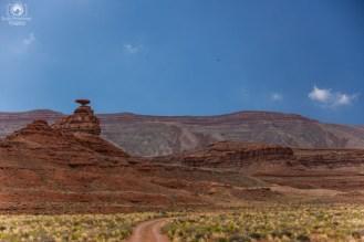 Caminho para Moab e Parque Arches