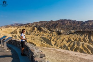 Zabriskie Point no Vale da Morte USA