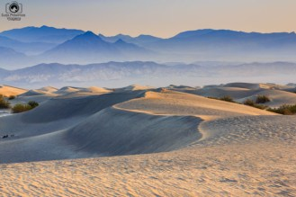 Mesquite Flats no Death Valley USA