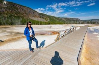 Passarelas em Yellowstone